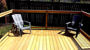 SAVE $200 ON UR DECK/FENCE NOW. CITY'S BEST DEAL!