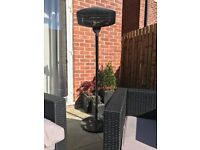 Vonhaus Free Standing Outdoor Patio Heater Used Once