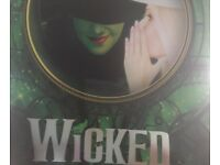 Wicked the musical: Apollo Theatre, London Victoria x2 tickets