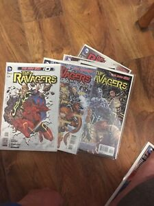 The Ravagers complete set