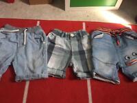 Boys next shorts 18-24 months