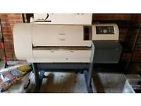 A0 large format printer - canon imageprograf w6400