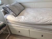 IKEA Hemnes day bed / sofa bed. Including 2 x mattresses. Smoke and pet free home. Bargain!