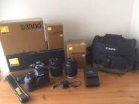 Nikon D3300 24.2mp DSLR Camera Kit