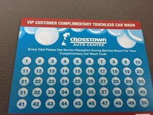 50 FREE CAR WASHES AT CROSSTOWN AUTO CENTRE