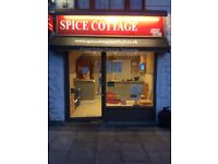 Takeaway for sale in Romford plus 1bed flat ontop of shop