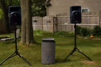 pa/dj sound system for rent weddings, office partys etc.