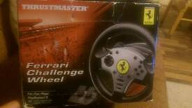 Thrustmaster Ferrari Challenge Wheel (PS3/PC)