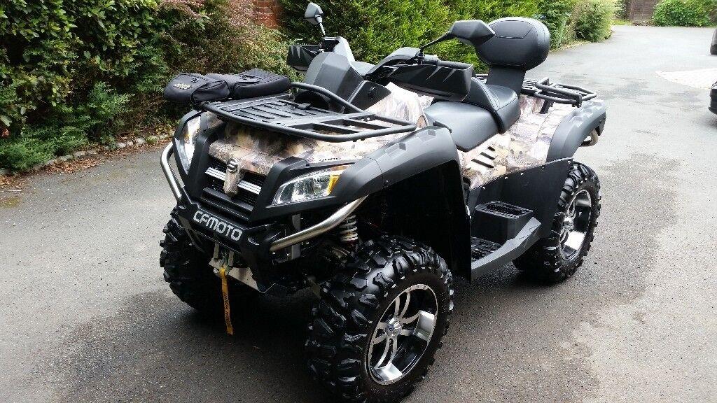 2015 quad bike Quadzilla X8 800cc road legal like new
