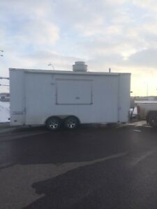 20' enclosed food trailer for sale