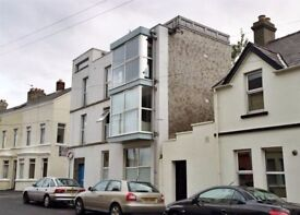 Ground Floor apartment in Central Bangor with Shared Roof Terrace
