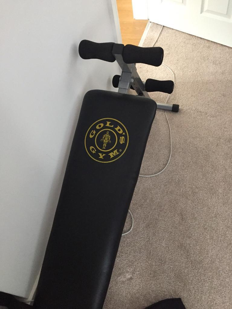 Gold's Gym sit-up bench
