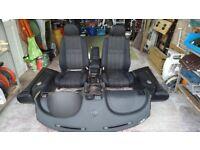 MG TF Full black interior