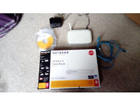 Netgear Wireless-G Cable Router