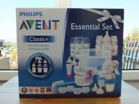 Avent Essentials Set Classic +. Brand New and Unopened