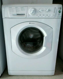 Hotpoint WML730 7kg 1300 Spin White A Rated Washing Machine 1 YEAR GUARANTEE FREE FITTING