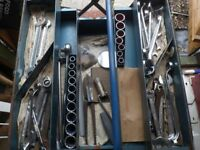 Vintage Mechanics Tool Set (50+ Pieces) 1964