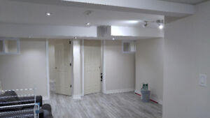 Newly renovated basement apt for rent (Neilson/Ellesmere)