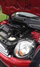 Mini One Hatchback 1.4 petrol 2008, service history, excellent condition, mot'd