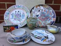 Vintage Job Lot Japanese Porcelain Pieces