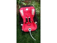 Britax First Class Plus Car Seat. GROUP 0+/1 (Birth - 4 years).