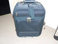 Small suitcase in Green-not cheap lightweight-made to last