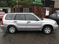 SUBARU FORESTER 2.0 X 5dr [AWP] (silver) 2005