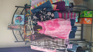 Girls size 6 lot with extras