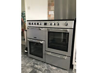 Cookmaster Electric Range Leisure double oven - only 9 months old. The model no is CK100C210