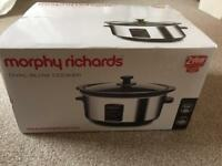 Morphy Richards Slow cooker (brand new in box)