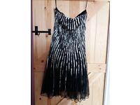 Strapless dress size 14