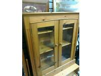 Pine book case #28639 £70