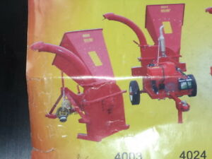 wood chipper for sale  CANADIAN BUILT