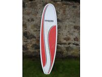 Improvers surfboard