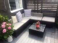 Room with huge terrace, West London