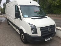 VW Crafter Blue 2.5tdi LWB High roof, 2009 (59) Low miles