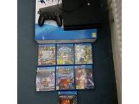 PRICES CAN BE NEGOTIONABLE!! PS4 500GB WITH 7