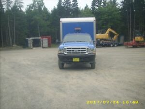 Ford F550 Cab Chassis & 16' Van Box