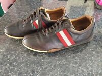 BALLY SHOES PAID £400 ONLY £90 AMAZING CONDITIONS LEATHER SIZE 10