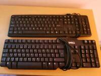Two PC Keyboards
