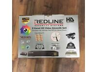 REDLINE SECURITY SYSTEMS 8 CHANNELS HD VIDEO SECURITY KIT