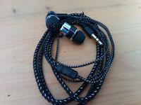 3.5mm Super Bass In-Ear Stereo Headphones Black