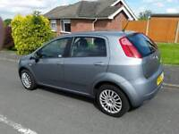 For sale Fiat Punto Grand 5-door 2009 Plate Metallic Grey MOT till August 2018