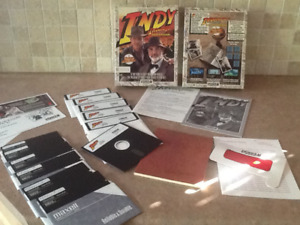 1990 Indy indiana jones and the last crusade graphic adventure.