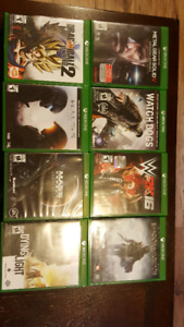 Xbox one games...