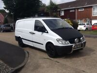 2008/58 MERCEDES VITO 109 CDI LONG WHEEL BASE, FULL MERCEDES SERVICE HISTORY .