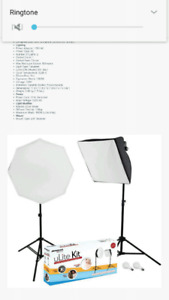 photography soft box lights