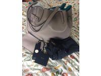 New/Unused Modalu Heirloom Fine Leather Designer Handbag
