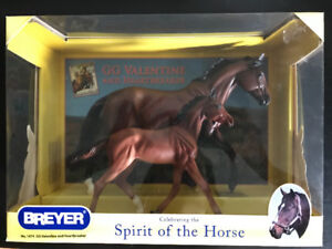 Breyer Horse - GG Valentine and Heartbreaker