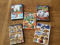 Childrens DVDs - Disney buddies and Paws